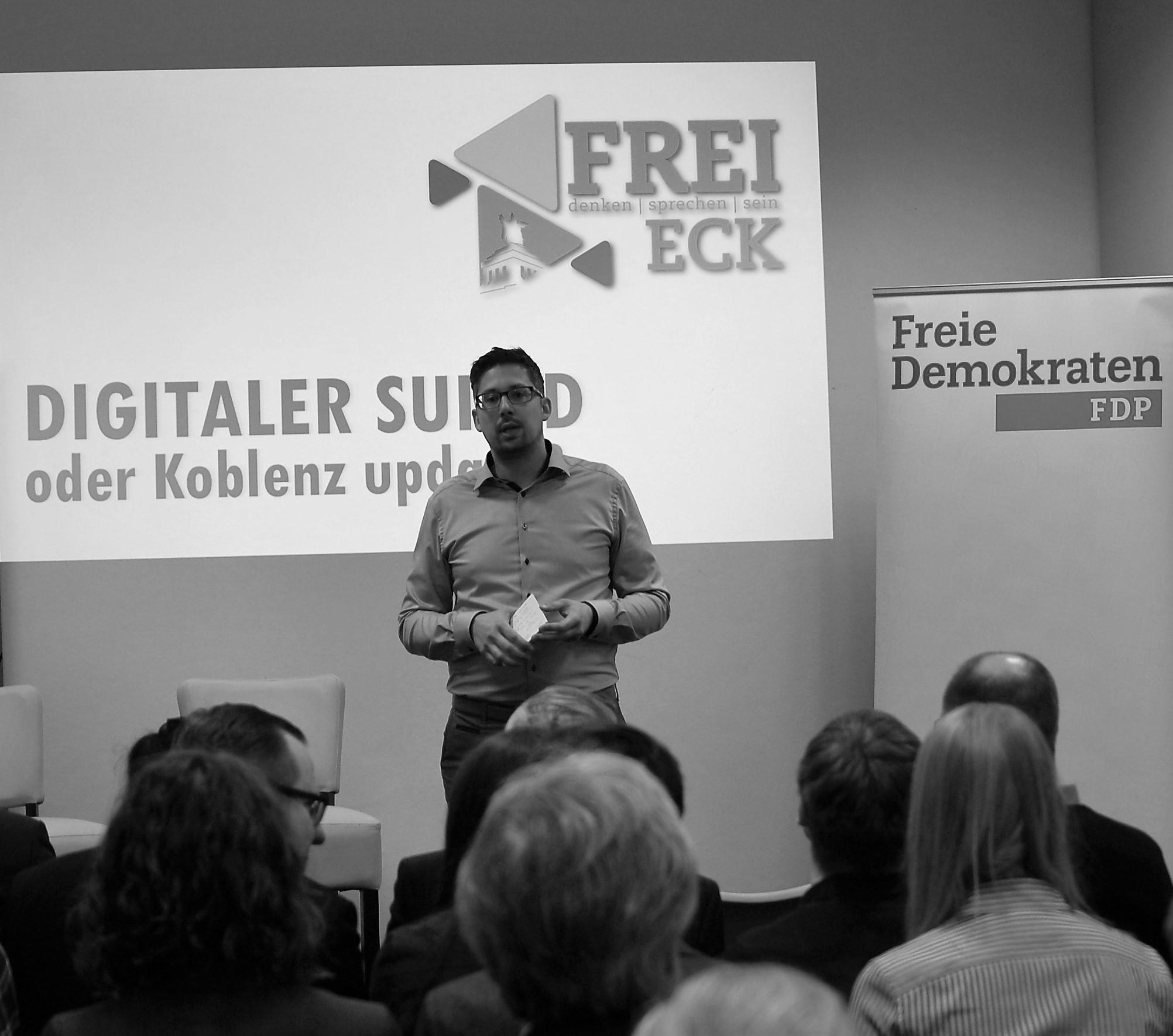 FreiEck: Digitaler Suizid oder Koblenz update?